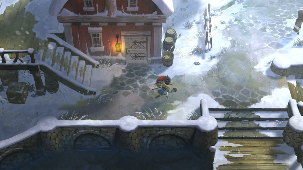 I Am Setsuna Switch Review Tired Old Hack Nintendo Each Characters Side Story Evolves In An Interesting Way And Though You Can Pretty Much Guess From The Start How Its Going To End They Get