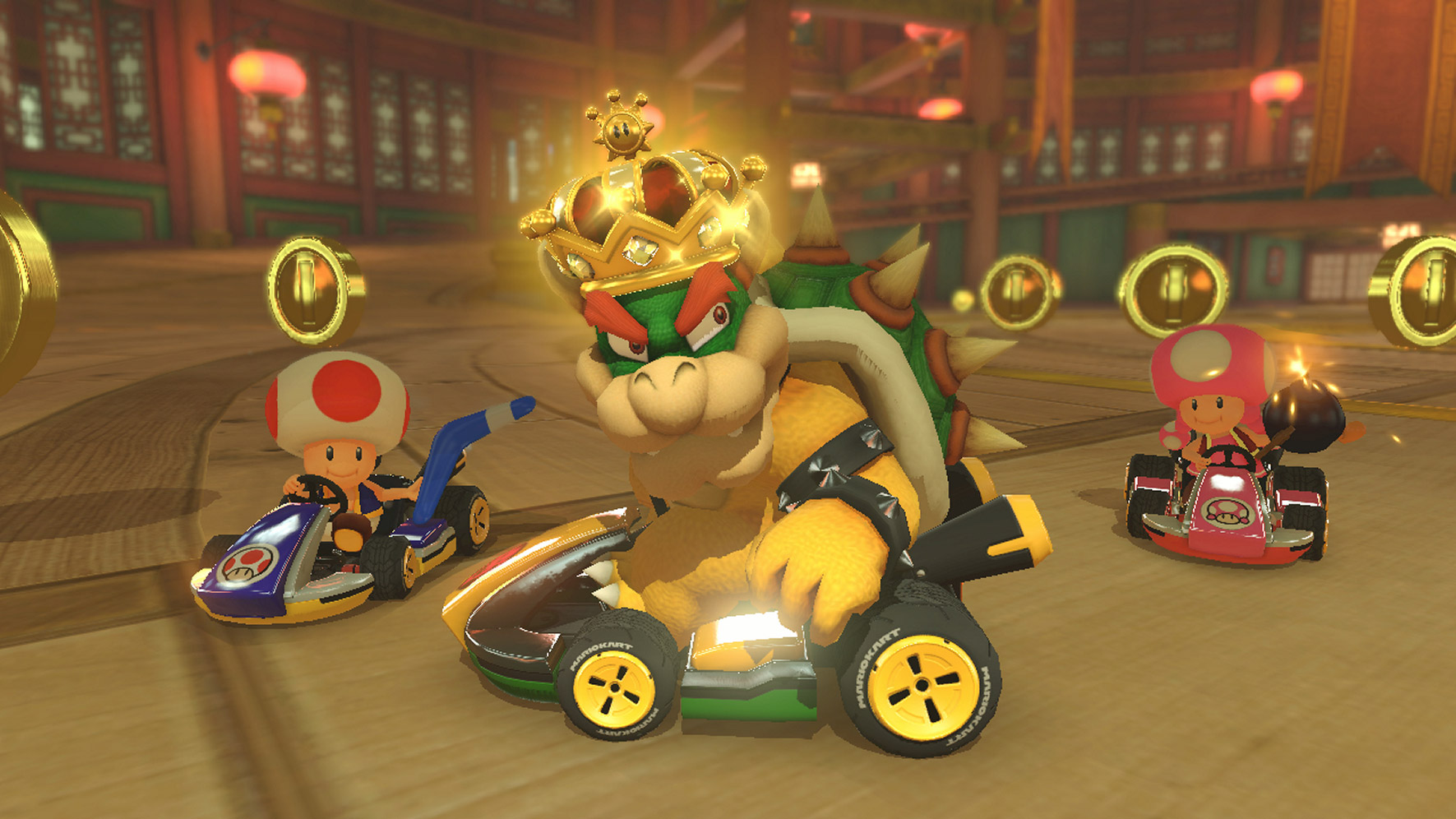 mario kart 8 deluxe switch review tired old hack. Black Bedroom Furniture Sets. Home Design Ideas