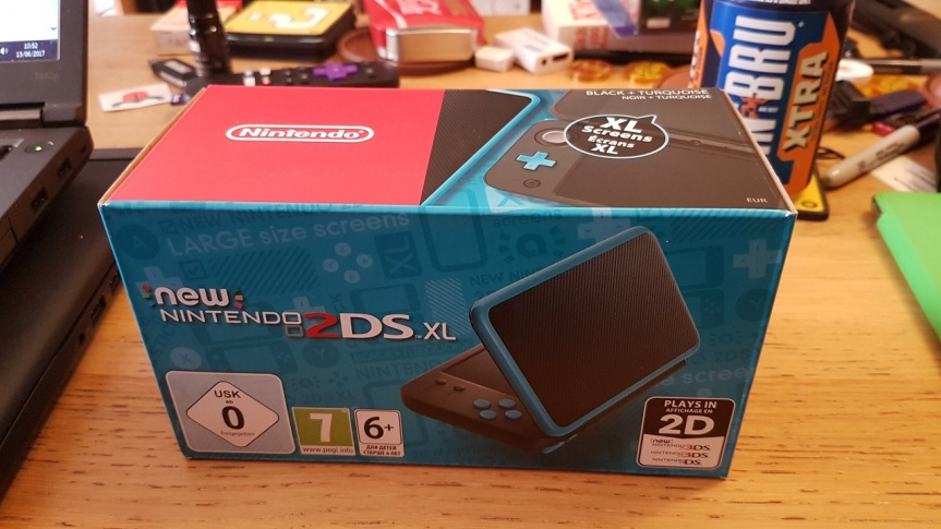 New 2DS XL unboxing and first hands-on impressionsvideo