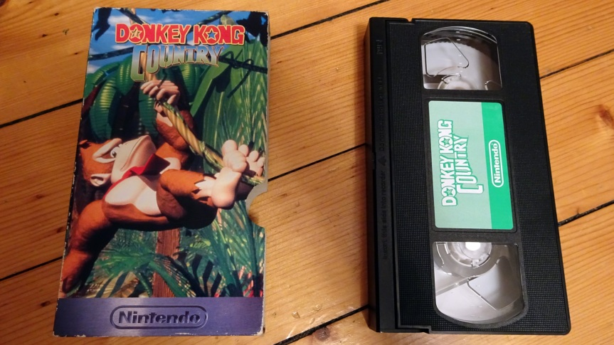 VHS Preservation Project #2: Donkey Kong Country Exposed (UK version)