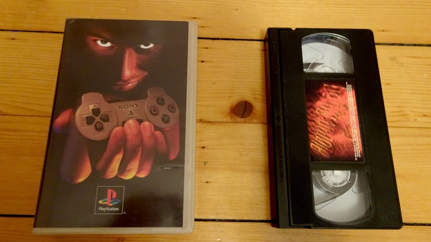 VHS Preservation Project #3: Blown Away(PS1)