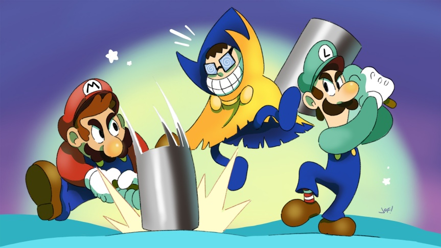 Mario & Luigi: Superstar Saga + Bowser's Minions (3DS)review