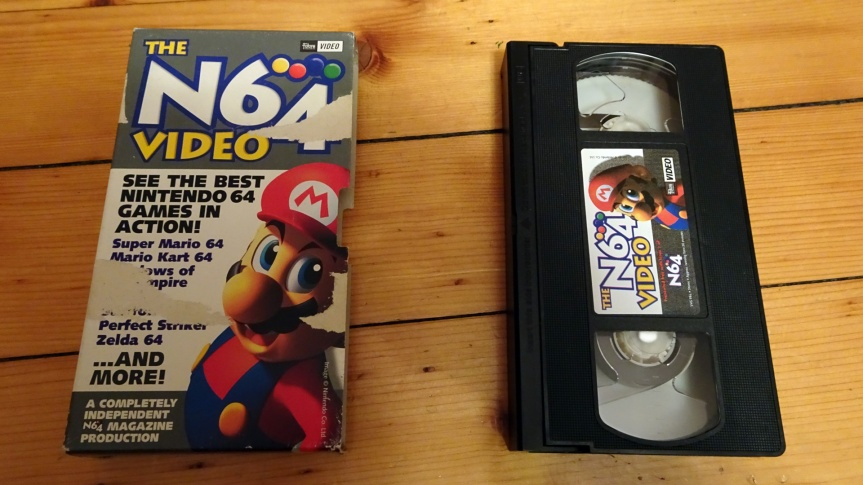 VHS Preservation Project #4: The N64 Magazine Video