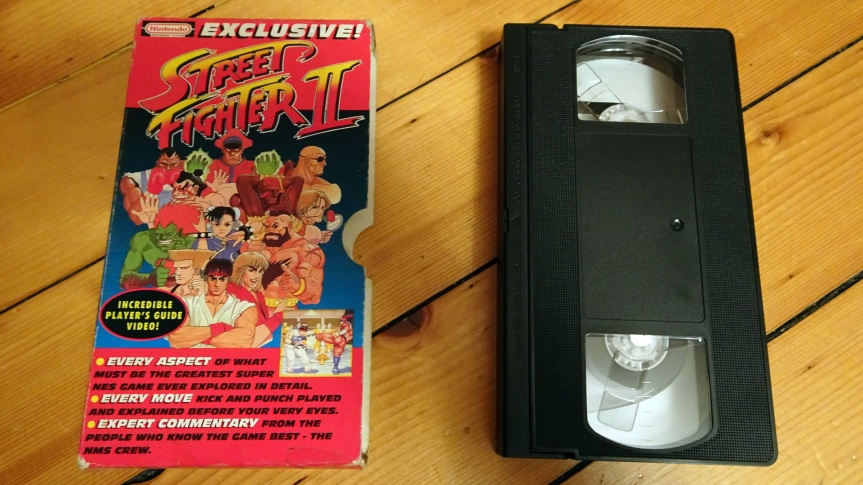 VHS Preservation Project #5: NMS Street Fighter II Player'sGuide