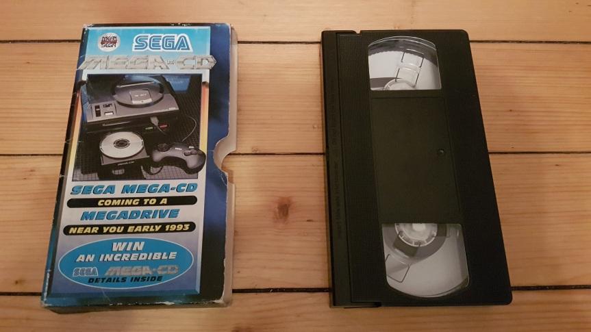 VHS Preservation Project #7: Mean Machines Sega Mega CD promovideo