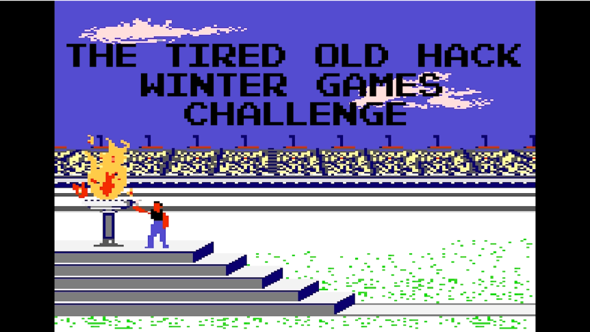 The Tired Old Hack Winter Games Challenge