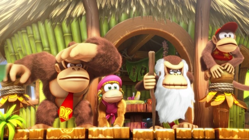Donkey Kong Country: Tropical Freeze (Switch) gameplayfootage
