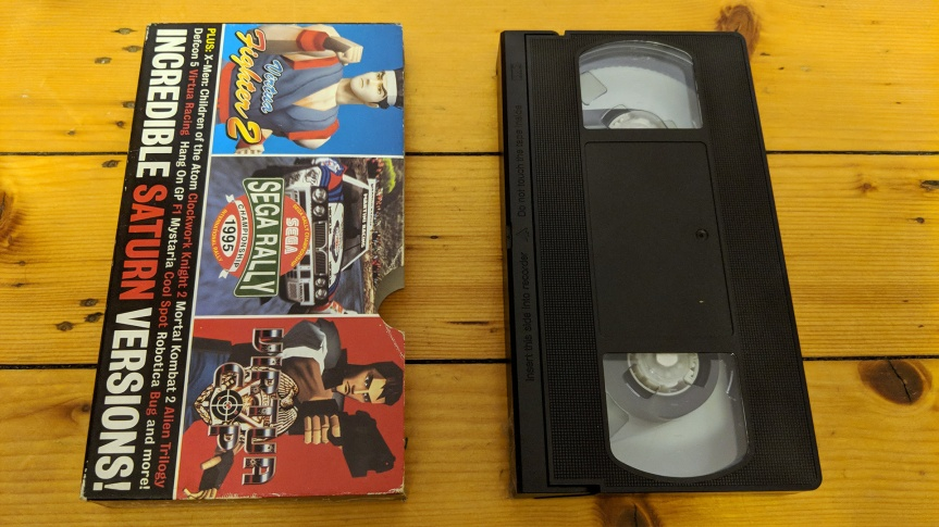 VHS Preservation Project #9: Sega Saturn Magazine promovideo
