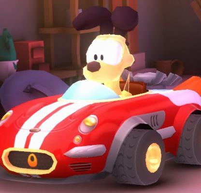 Woof Mobile (Odie's car)