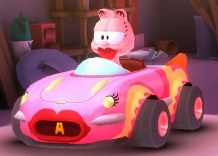 Kissy Kart (Arlene's car)