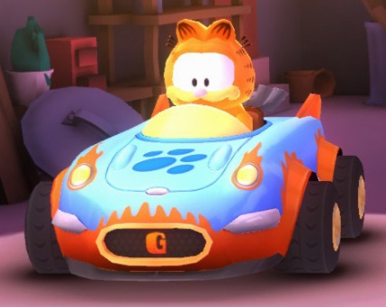 Formula ZZZ (Garfield's car)