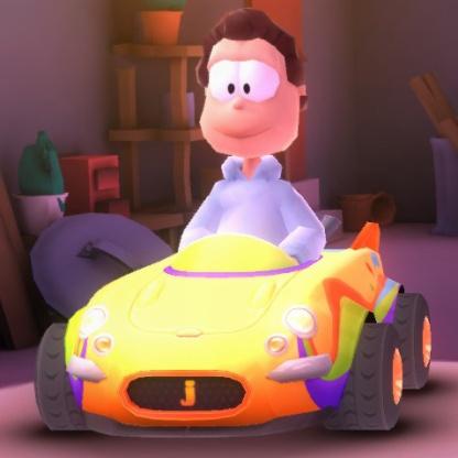Abstract Kart (Jon's car)