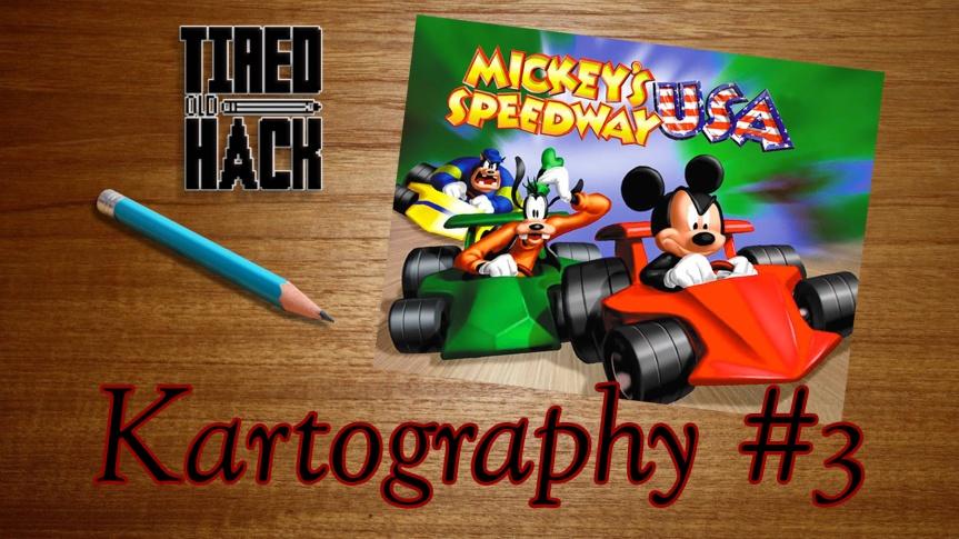 Kartography #3 – Mickey's SpeedwayUSA