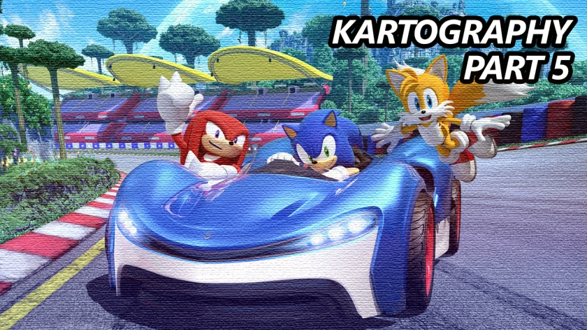 Kartography #5 – Team Sonic Racing – Tired Old Hack